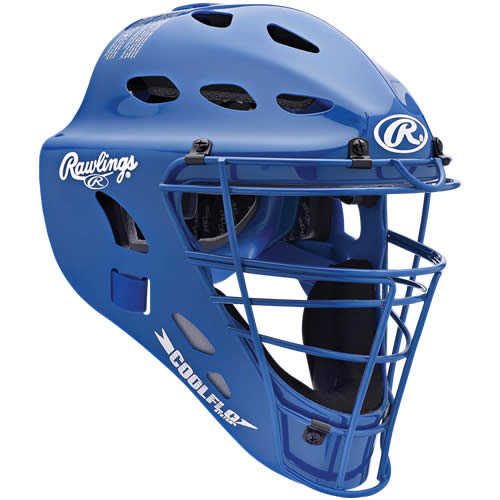 RAWLINGS CFA1JP-R Adult CoolFlo Catchers Helmet